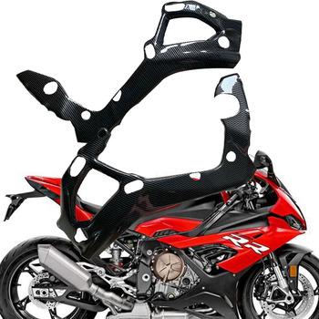 S1000RR Carbon fiber color(ABS plastic)Motorcycle Frame Cover Fairing Guard Protector For BMW S1000 RR 2019 2020