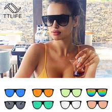 TTLIFE Polaroid Sunglasses Unisex Square Vintage Sun Glasses Famous Brand Sunglases Retro Feminino For Men Women