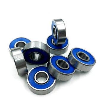 500pcs high speed ABEC-9 608-2RS roller skate bearing 608 608RS skating Finger spinner skateboard wheel ball bearings 8*22*7mm