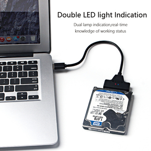 """Image 4 - USB 3.0 SATA Cable SATA to USB Adapter for 2.5"""" SSD HDD External Hard External Drive Case"""