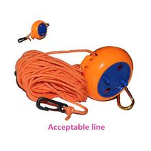 цена на MeterMall High Strength Outdoor Clothesline Retractable Rotation Recovery Box Type Tent Rope