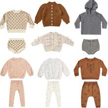 Dzieci swetry wełniane 2020 RC Brand New jesień zima chłopcy dziewczęta moda dziergany sweter dziecko dziecko bawełna odzież wierzchnia ubrania tanie tanio COTTON Na co dzień Cartoon REGULAR O-neck Unisex Pełna PATTERN Pasuje prawda na wymiar weź swój normalny rozmiar Otwórz stitch