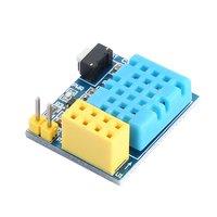 ESP8266 ESP 01 ESP 01S DHT11 Temperature Humidity Sensor Module Wifi NodeMCU Smart Home IOT DIY Kit(without ESP module)|Building Automation|   -