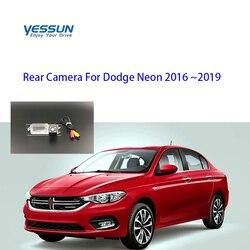 Yessun kamera tylna do Dodge Neon 2016 2017 2018 2019 kamera cofania/kamera tylna/prawo jazdy kamera na tablicę rejestracyjną|Kamery pojazdowe|   -