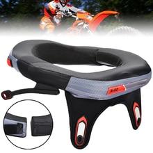 Mayitr Neue Motorrad Neck Brace Schutz Motocross Off Road Lange Abstand Racing Sicherheit Schutz Getriebe