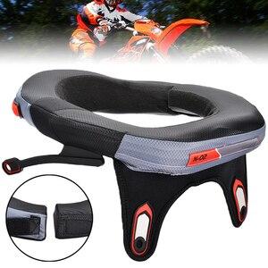 Image 1 - Mayitr nova motocicleta pescoço cinta protetor motocross fora da estrada de corrida de longa distância de proteção de segurança engrenagem