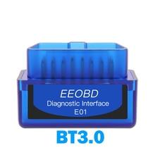 EEOBD E01 Obd2 Scanner BT 3,0 Bluetooth Android Adapter Auto Auto Diagnose Werkzeuge Interface Scanner ELM327 OBD II Auto Detektor