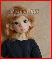 New shelves 1/6 BJD kaye wiggs cinnamon Human version fashio LOVELY doll for baby girl birthday gift free shipping