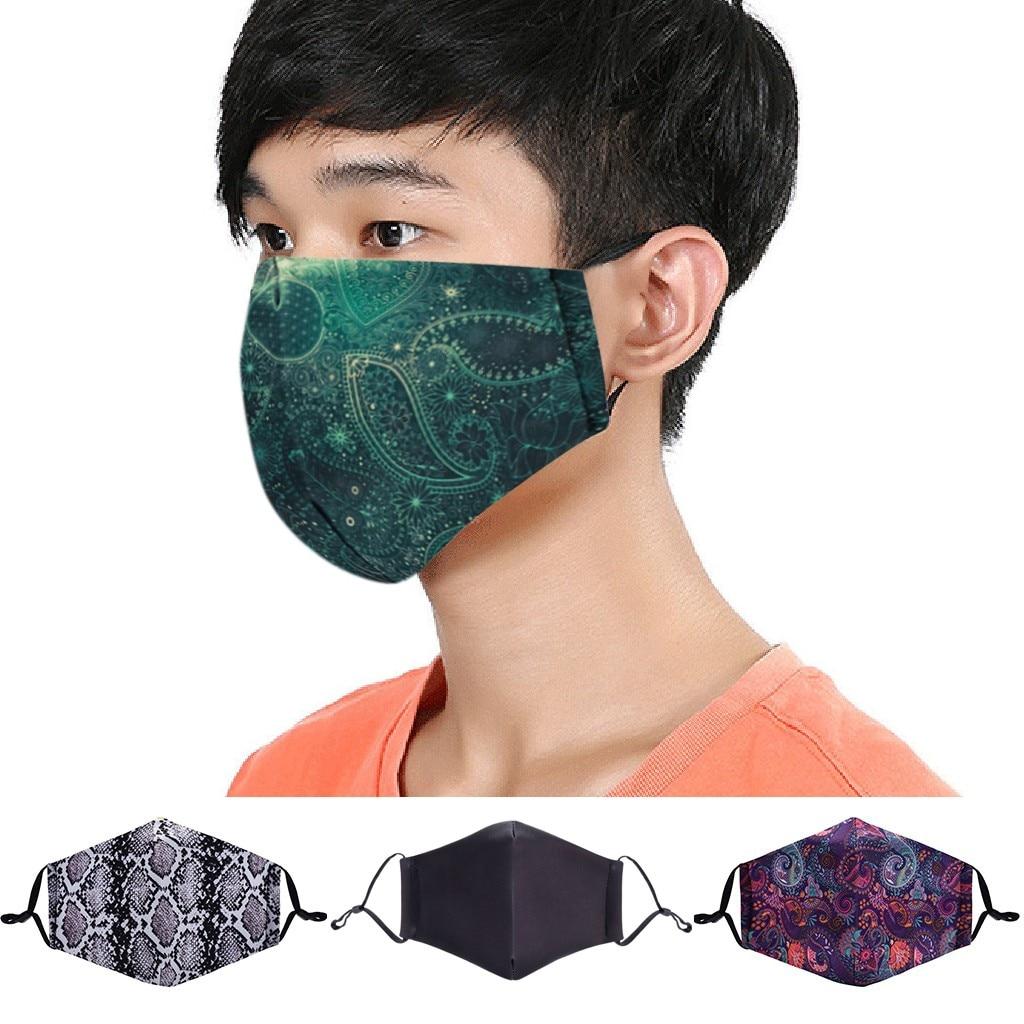 Reusable Anti-Dust Face Maske Washable Protective PM2.5 Filter Mouth Maske Fashion Anti Dust Mouth Maske Mouth-muffle Face Maske