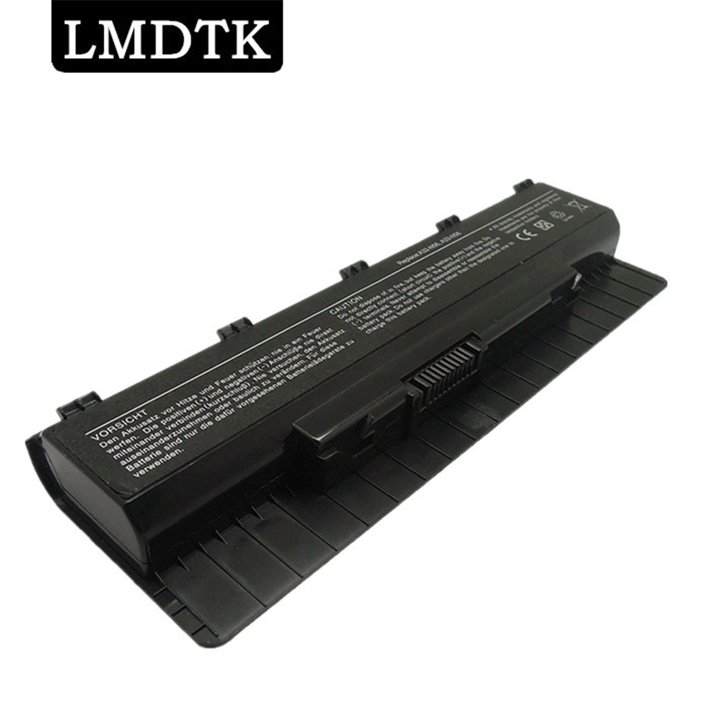 LMDTK New 6 cells Laptop <font><b>battery</b></font> For <font><b>asus</b></font> N46 <font><b>n46v</b></font> N46VJ N46VM N46VZ N56 N56D N56DP N56V N56VJ N76 N76V A31-N56 A32-N56 A33-N56 image