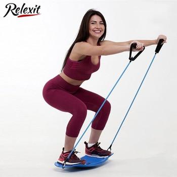 Fitness Balance Board Waist Twisting Boards Yoga Gym Prancha Abdominal Leg BalanceTraining Exercise Workout Equipment 1