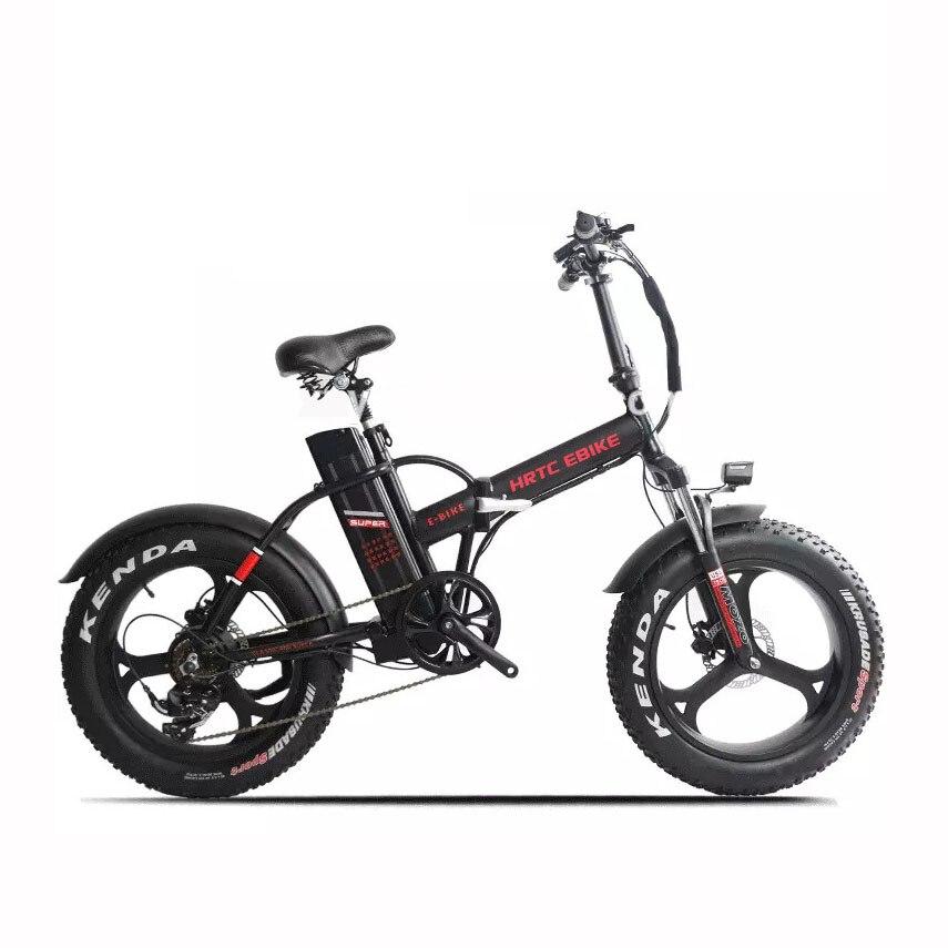 Электрический велосипед с утолщёнными шинами, 20 дюймов, 1000 Вт, 48 В, 20 Ач