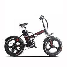 Novo 20 polegada bicicleta elétrica pneu gordo neve bicicleta 1000w motor 48v 20ah li-ion bateria freio hidráulico dobra gordura ebike