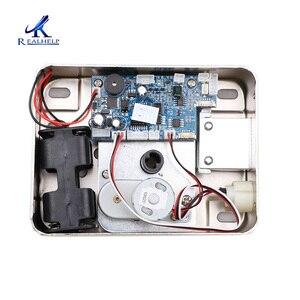 Image 5 - AA Dry Battery Easy Install Smart Lock  RFID Electronic Locker Door Lock Wireless Rfid Electronic Battery Proximity Card Lock
