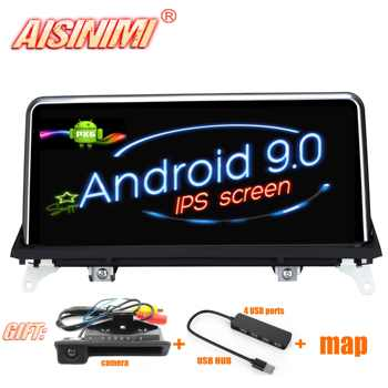 AISINIMI Android 9.0 PX6 Car Dvd Navi Player FOR BMW X5 E70/X6 E71 2007-2010 CCC or CIC System audio gps stereo auto all in one - DISCOUNT ITEM  39 OFF Automobiles & Motorcycles