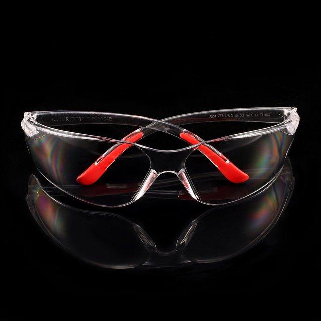 Bicicleta de segurança óculos de proteção transparente para ciclismo proteção do trabalho óculos de segurança soldador 1