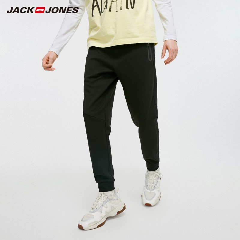 JackJones Men's Stretch Sports Jogger Pants Men's Slim Fit Sweatpants Fitness Sporty Trousers JackJones 219314526
