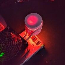 ZVS высокочастотная индукционная нагревательная машина, набор для самостоятельной закалки, термообработка, плавильная печь, металлический материал, нагрев, плавка