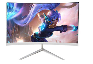 New Curved 22 24 inch 75hz Gaming PC Monitor HD LED Curved Monitor for computer