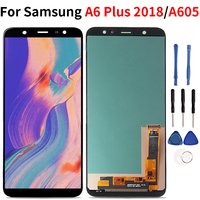 For Samsung Galaxy A6 Plus 2018 LCD Touch Screen Display Digitizer Assembly For Samsung A6 Plus A6 A605 A605FD