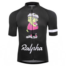 Simpsons Ralpha bicycle Jersey bike Jerseys road track MTB race cut aero cycling jersey man men italian clothing quick dry short(China)