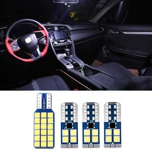 4pcs Error Free Auto LED Bulb Kit Car Interior Dome Light Reading Lamp Trunk Light For Honda Civic 2014 2015 2016 2017 2018 2019