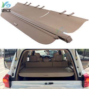 Rear Trunk Cargo Cover For TOYOTA Land Cruiser LC200 200 2008 2009 2010 2011 2012-2013 High Qualit Security Shield accessories