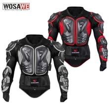 WOSAWE Waterproof Motorcycle Armor Jacket Off road Motocross Jacket Racing Riding Motorbike Protector Gear Racing Guards Adult