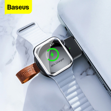 Baseus Qi Wireless Charger For Apple Watch 4 3 2 1 i Series Portable Fast Wireless Charging Dock Magnetic USB Charger For iWatch magnetic wireless charger watch fast charger for apple watch 4 3 2 1 portable usb wireless charge cable for iwatch 1 2 3 4