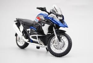 Image 3 - Maisto 1/18 1:18 סולם BMW R1200 GS אופנועים אופנועים Diecast תצוגת מודלים יום הולדת מתנת צעצוע לילדים בני