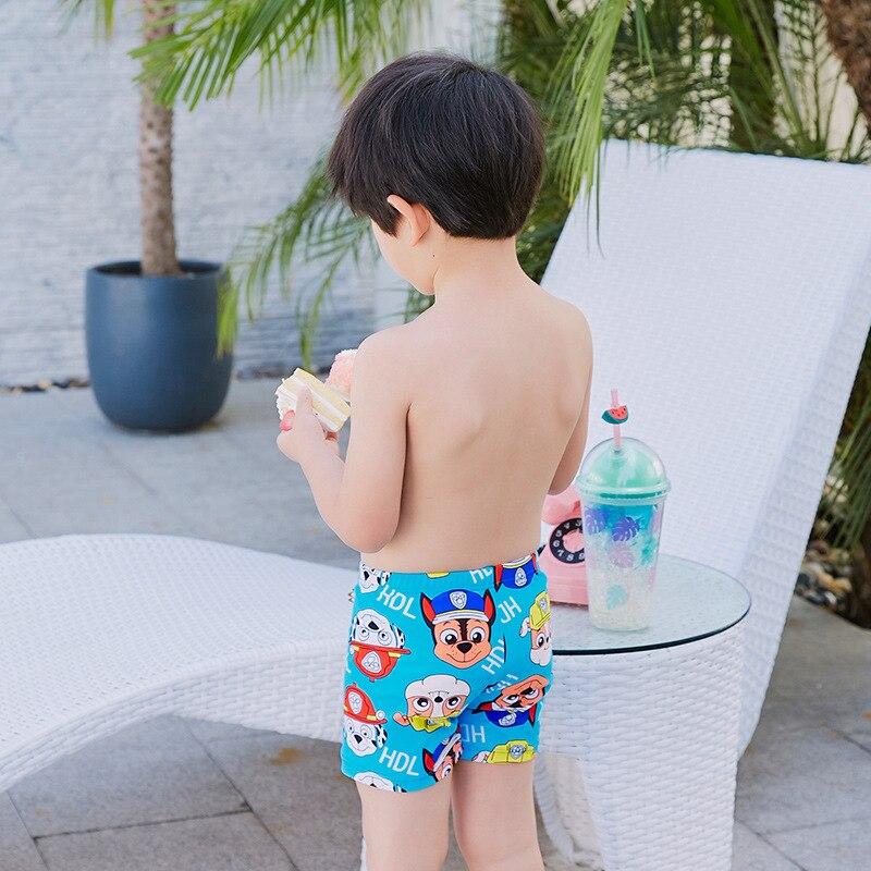 Cartoon Cute BOY'S Swimsuit Small CHILDREN'S Swimming Trunks Send Swimming Cap Children Swimming Trunks Comfortable Plain Top An