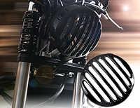Schwarz Flach Geschnitten Scheinwerfer Grill Abdeckung Für 17 18 19 Honda Rebel CMX 300 500 ABS