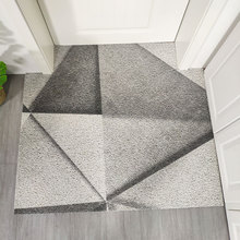 Nordic INS abstract geometry entrance hall carpet PVC wire loop mat Door Living room floor bathroom non-slip rug