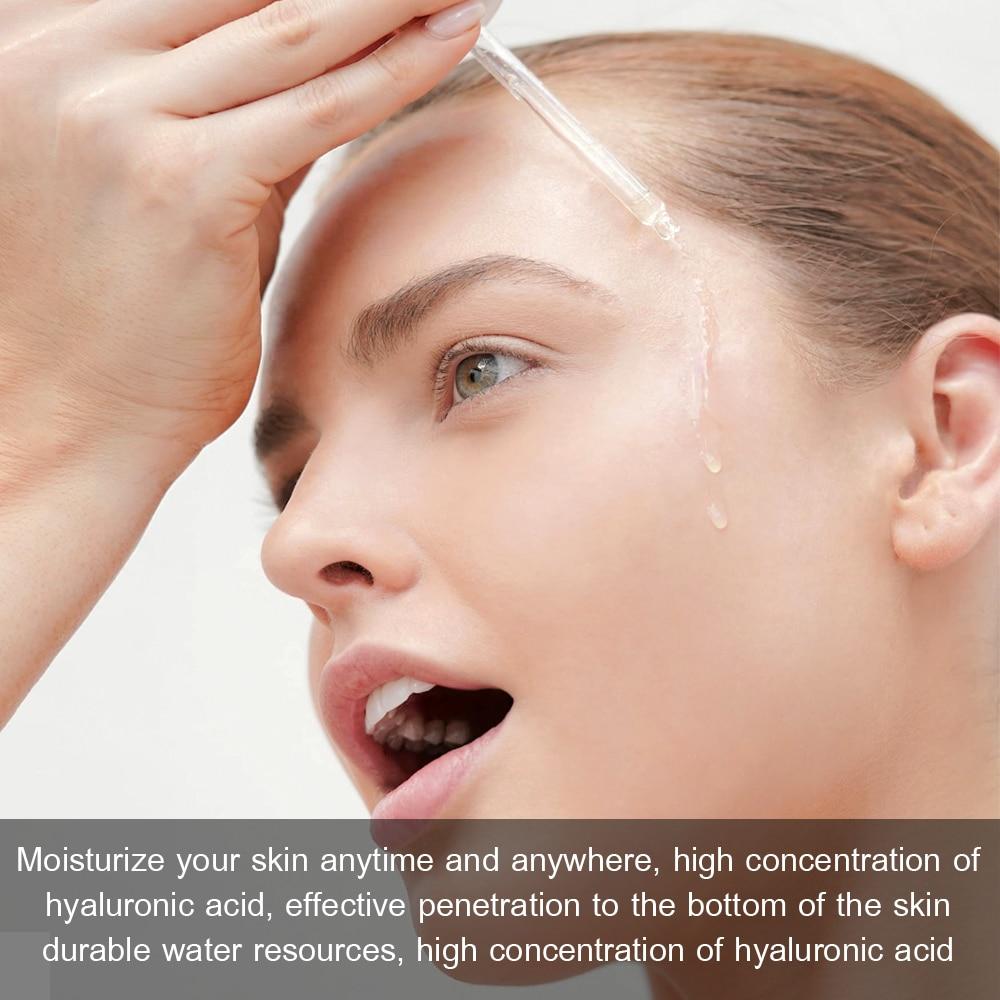 VIBRANT GLAMOUR Hyaluronic Acid Face Serum Anti-Aging Shrink Pore Whitening Moisturizing Essence Face Cream Dry Skin Care 15ml 2
