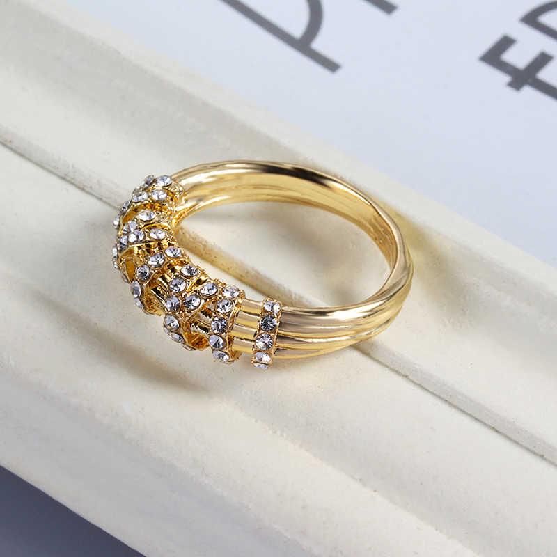 แหวนผู้หญิงแฟชั่นMicroชุดZirconแหวนเรขาคณิตแหวนโดยเฉพาะผู้หญิงให้แฟนวันเกิดของขวัญ
