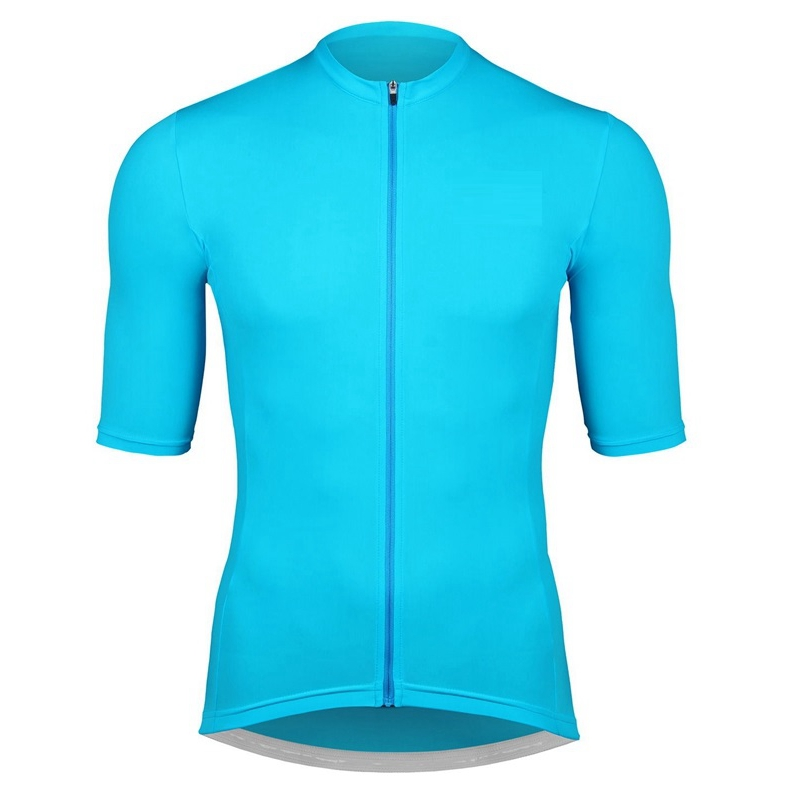 Team SDIG Pure blue green cycling jersey men Summer short sleeve cycle wear Breathable quality good riding shirt 100% polyester
