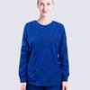 Long Sleeve Scrub Set Women Fashion Size Opening Front Medical Uniforms Round Collar Coat + Elastic Waistline Pants Scrubs Nurse