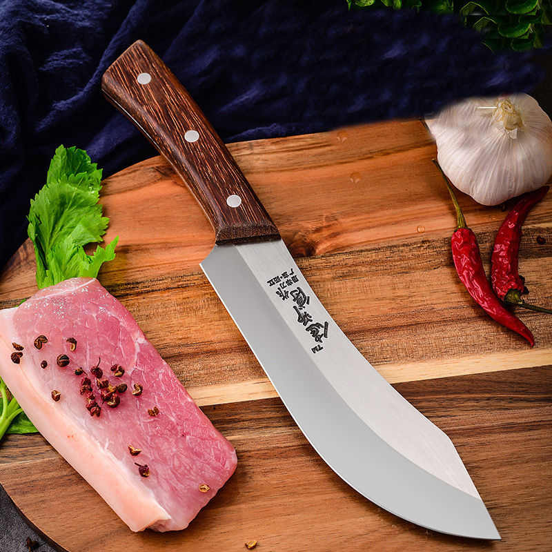 LiangDa Knife Stainless Steel Handmade Forged Multi-functional Kitchen Knife Turkish Chef Cleaver Boning Knife For Meat And Bone