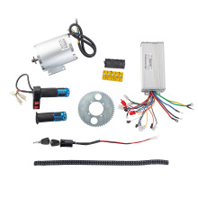 Motor-Conversion-Kit Ebike Twist-Throttle Electric-Motor Brushless 2000W 48V 60V