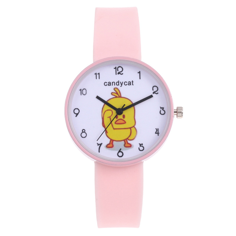 Fashion Cartoon Watch For Children Boys And Girls Wrist Watches Quartz Clock Kids Watches For Students Plastic Band Watch Daily