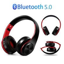 Беспроводные наушники Bluetooth 5,0, гарнитура, Складные стерео наушники, игровые наушники, стерео наушники с микрофоном для ПК, всех мобильных телефонов, Mp3