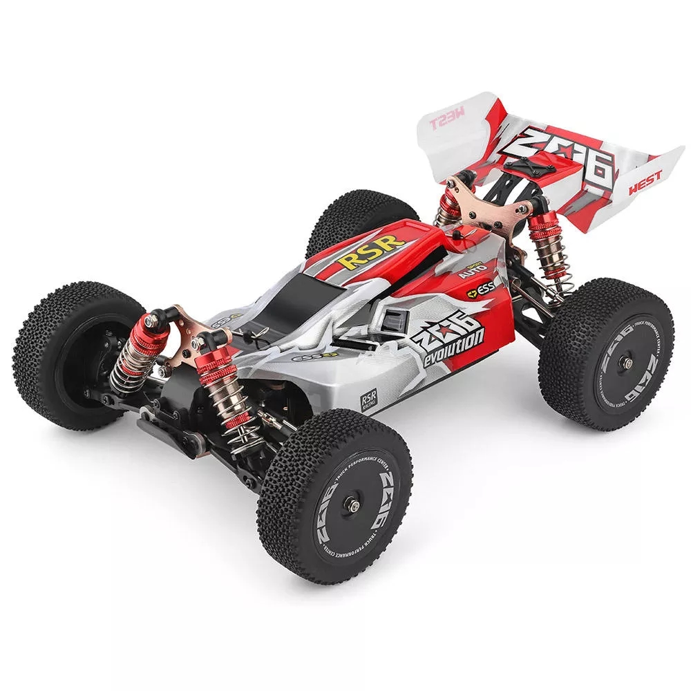 Wltoys 144001 1/14 2.4G RC Buggy 4WD High Speed Racing RC Car Vehicle Models 60km/h RC Racing Car 550 Motor RC Off-Road  Car RTR