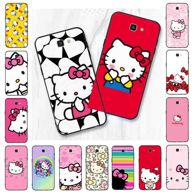 Babaite Cute Kawaii Hello Kitty Diy Printing Phone Case For Samsung Galaxy J7 J6 J8 J4 J4plus J7 Duo J7neo J2 J5 Prime Phone Case Covers Aliexpress