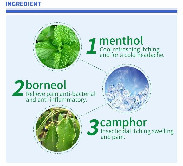 ingredients of pain pad