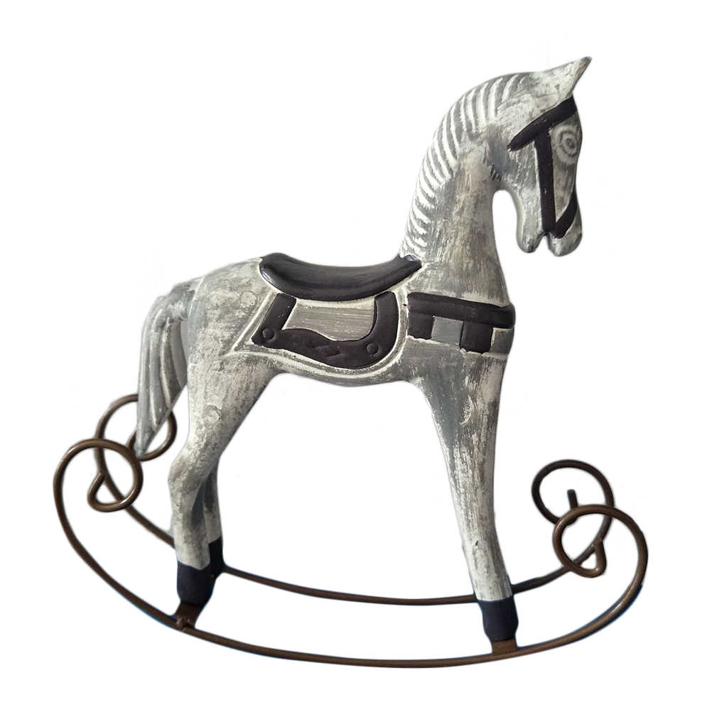 Swing Horse Decor Vintage Decorative