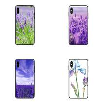 TPU Coque Case For Redmi 3S 4X 4A 5 5A 6 6A 7 7A 8 8A 8T 9 9A K20 K30 S2 Y2 Pro Plus Ultra Simple Lavender Purple Flowers(China)
