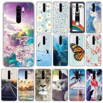 Animal TPU Case For Xiaomi Redmi Note 8 Pro Soft Silicone Cover For Xiomi Redmi Note8 Pro Note8Pro 6.53 Phone Cases Funda Coque image