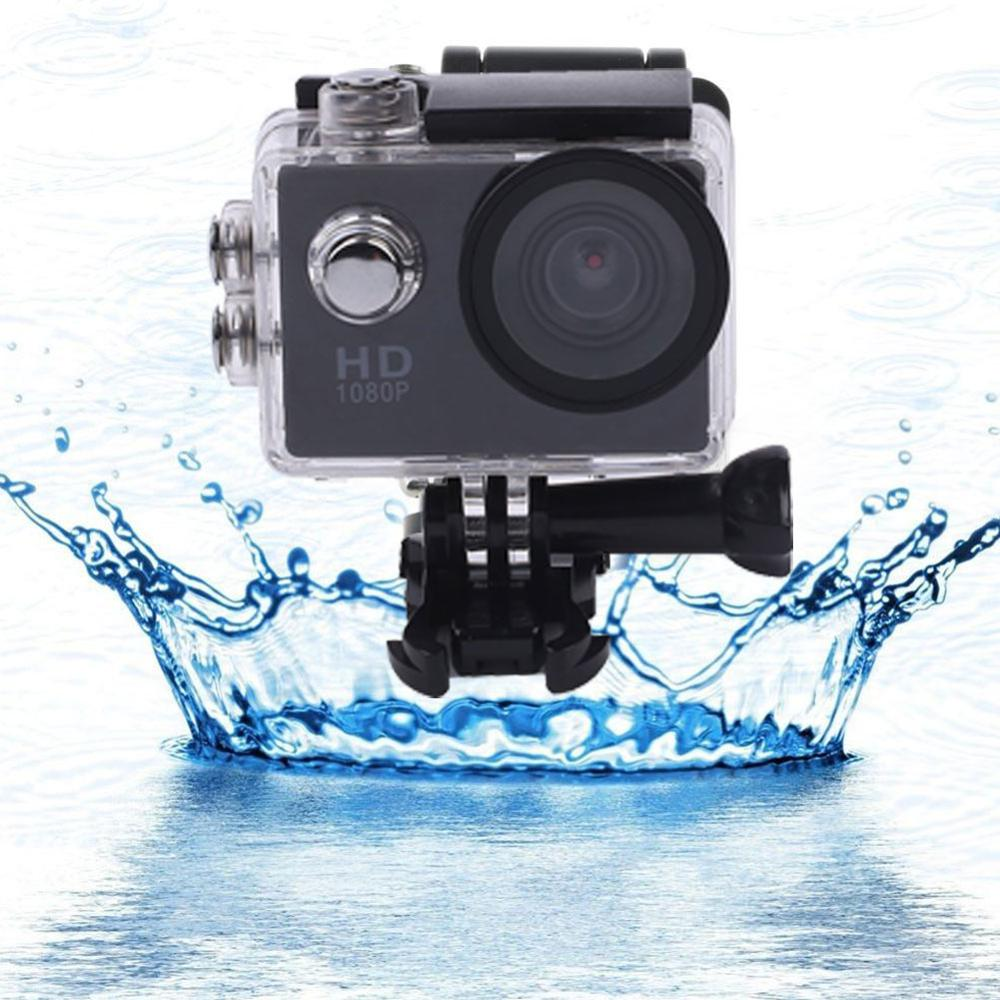 Cewaal <font><b>2</b></font> inch sports camera waterproof sports camera difference 1080P packet simple match image