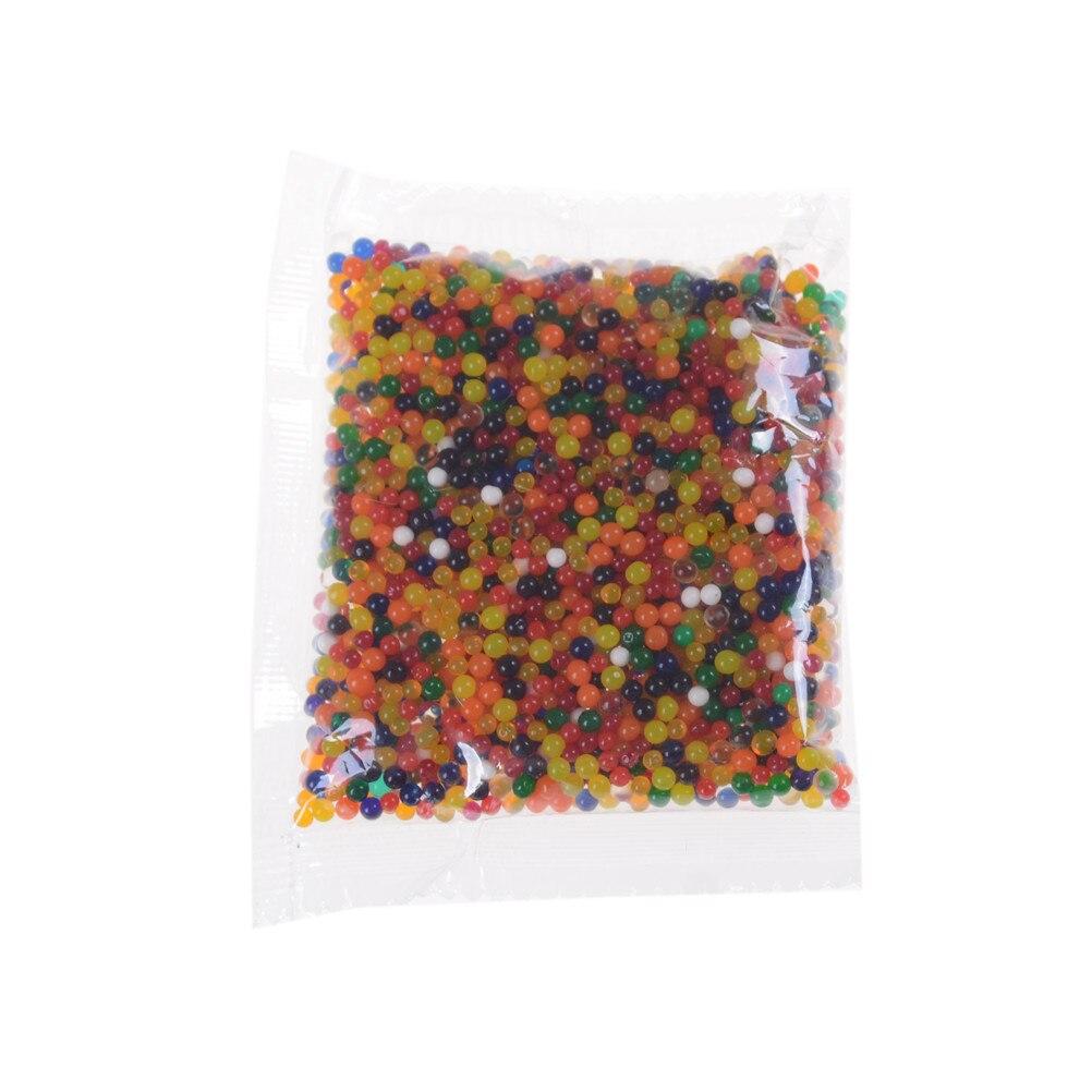 3000pcs/pack cute Water Beads Growing Up Water Balls  Crystal Soil Mud Hydrogel Gel Kids Toy Wedding Home Flower Decoration