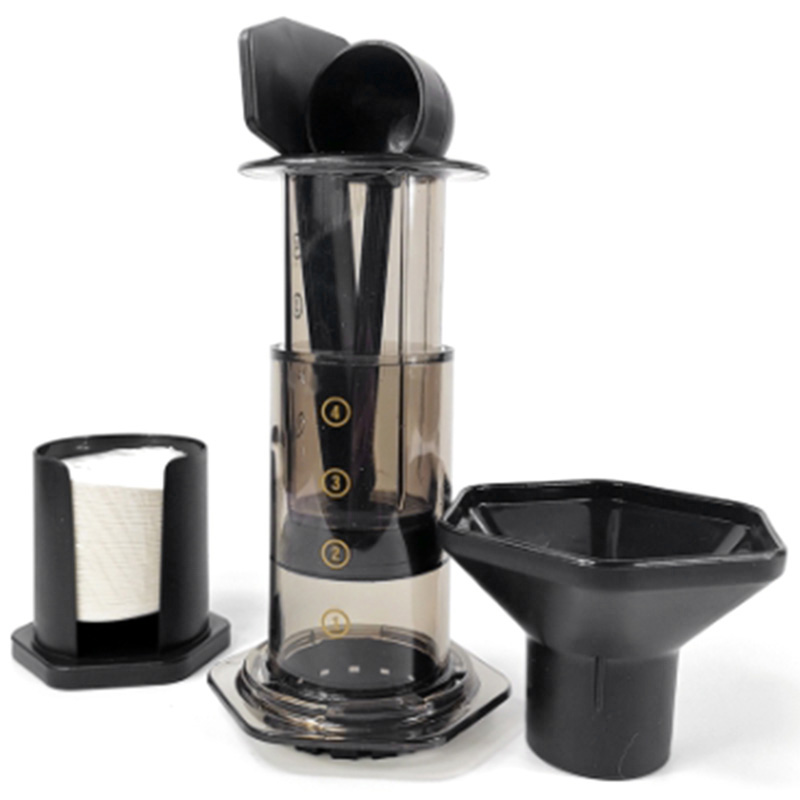 Filter Glass Espresso Coffee Maker Portable Cafe French Press Cafe Coffee Pot For Machine